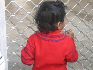 Dziewczynka w Agrze