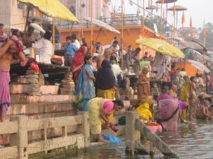 Varanasi nad Gangesem