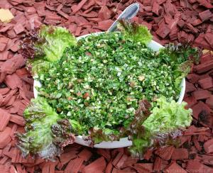 Pietruszkowa sałatka z tabouli